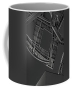 Structure - Center For Brain Health - Las Vegas - Black And White Coffee Mug