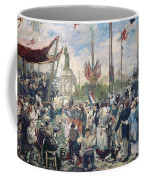 Study For Le 14 Juillet 1880 Coffee Mug