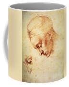 Study For The Head Of Leda Coffee Mug