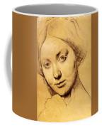 Study For Vicomtesse D Hausonville Born Louise Albertine De Broglie Coffee Mug