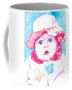 Study In Blue And Pink Coffee Mug