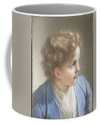 Study Of A Boy In A Blue Jacket , Benedetto Luti Italian, Florence 1666-1724 Rome Coffee Mug