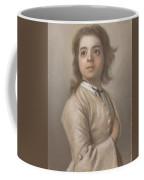 Study Of A Boy In Half Length, Jean-etienne Liotard, 1736 - 1738 Coffee Mug