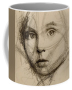 Study Of A Face Coffee Mug