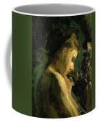Study Of A Girl Head 1869 Coffee Mug