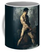 Study Of A Male Nude Coffee Mug by Theodore Gericault
