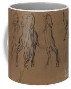 Study Of Horses Coffee Mug