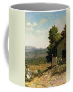 Study Of Old Barn In New Hampshire Coffee Mug