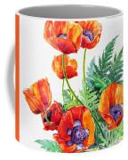 Study Of Poppies Coffee Mug