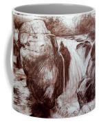 Study Of Rocks At Betws-y-coed Coffee Mug