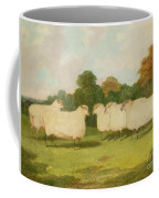 Study Of Sheep In A Landscape   Coffee Mug