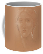 Study Of The Head Of Margaret Burne Jones Coffee Mug