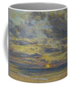 Study Of The Sky With Setting Sun Coffee Mug