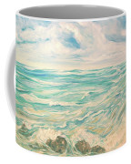 Study Of Tropical Blue Coffee Mug