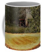 Stump Barn Car Coffee Mug
