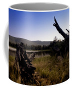 Stumped By The Lake Coffee Mug