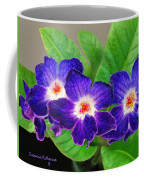 Stunning Blue Flowers Coffee Mug