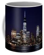Stunning Nyc Skyline At Night Coffee Mug