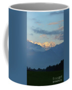 Stunning Photo Of The Countryside With Mountains  Coffee Mug