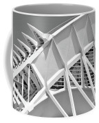 Stunning Structure - Black And White Coffee Mug
