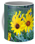Stunning Wild Sunflowers Coffee Mug