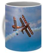 Stunt Biplanes With Wingwalkers Coffee Mug