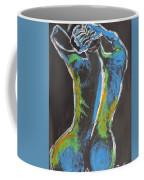Styling Her Hair 1 - Female Nude Coffee Mug
