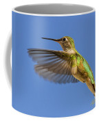 Stylized Hummingbird In Hover Coffee Mug