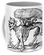 Su Monster (opossum), 1558 Coffee Mug