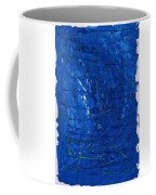 Subatomic Particles In Blue State Coffee Mug