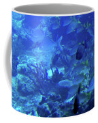 Submarine Underwater View Coffee Mug