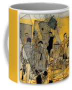 Submitted Cd Cover For The Band Bebop Complex 50's Jazz Revisited Coffee Mug