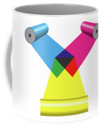 Subtractive Color Mixing With Print Cylinders Coffee Mug
