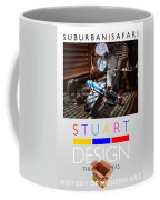 Suburban Safari Poster Coffee Mug
