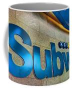 Subway Entrance Coffee Mug