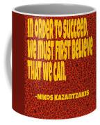 Succeed Coffee Mug