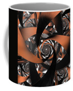 Suede Spiral Coffee Mug