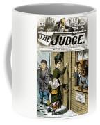 Suffrage Cartoon, 1884 Coffee Mug