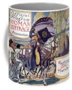 Suffragette Parade, 1913 Coffee Mug