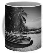 Sugar Beach Hawaiian Outrigger Canoes Kihei Maui Hawaii  Coffee Mug