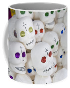 Sugar Skulls For Sale At The Day Coffee Mug by Krista Rossow