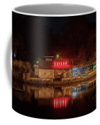 Suisan Fish Market At Night Coffee Mug