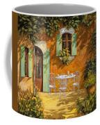 Sul Patio Coffee Mug by Guido Borelli