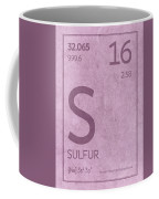 Sulfur Element Symbol Periodic Table Series 016 Coffee Mug