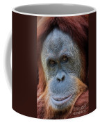 Sumatra Orangutan Portrait Coffee Mug