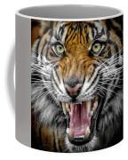 Sumatran Tiger Snarl Coffee Mug