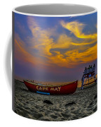 Summer Sunset In Cape May Nj Coffee Mug