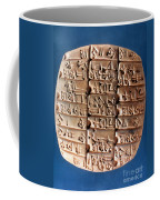 Sumer Tablet Of Accounts Coffee Mug