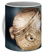 Sumerian Gold Helmet Coffee Mug