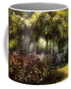 Summer - Landscape - Eve's Garden Coffee Mug by Mike Savad